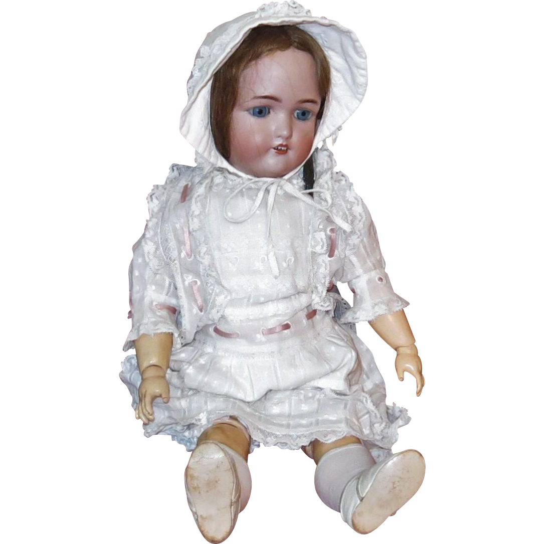 Adorable Porcelain Head Doll Simon and Halbig 1349