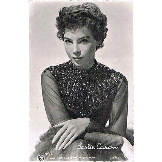 Leslie Caron Vintage Photo of Beloved Actress