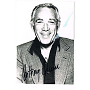 Anthony Quinn Autograph on Photo CoA