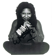 Whoopi Goldberg Autograph on Photo CoA