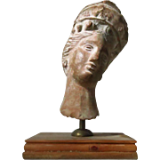 Archaic Bust from Ephesus c. 2000 Years old Grecian Relic