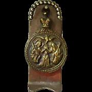 Antique Bronze Medallion from Jordan