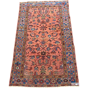 Semi-antique Persian Carpet  78 x 48 Inches