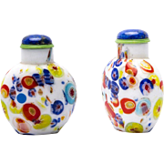 Attractive old Chinese Snuff Bottle Millefiori
