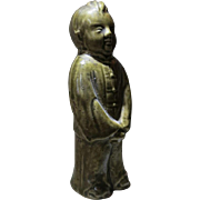 Chinese Pottery Little Boy Republic Period