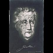 Memento Mori Postcard Goethe