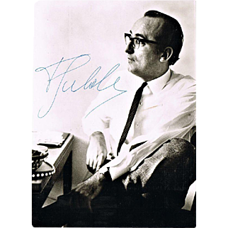 Friedrich Gulda Autograph and Programs CoA