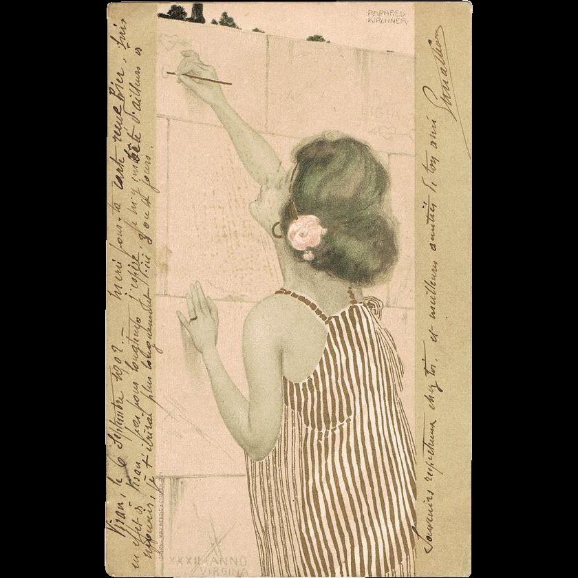Raphael Kirchner Postcard Virgina