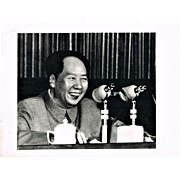 Cultural Revolution China Authentic Photo Mao Speech