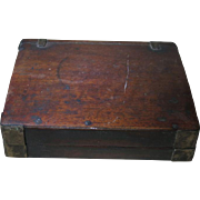 Old Chinese Ink Slab in Wooden Box