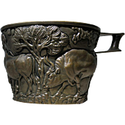 Rare Art Replica Vapheio Cup by by Emille Gillieron 19th Century