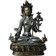 Sino-Tibetan Bronze Buddha c. 100 Years old
