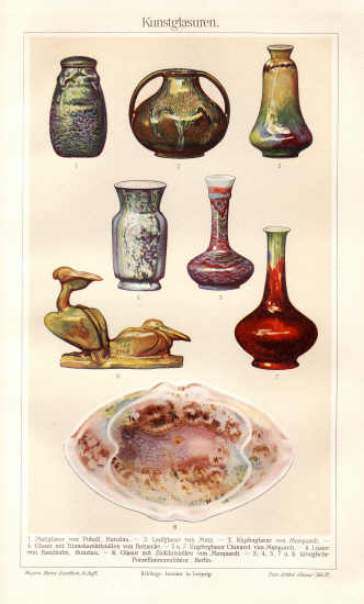 1902: Orange Peel Glace. Antique Lithograph