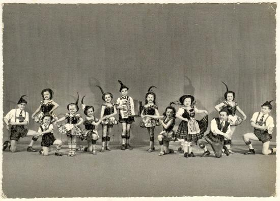 Lilliputians as Entertainers for a Circus.