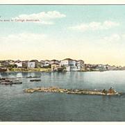 Baalbeck: Vintage Postcard American College.