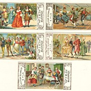 Chocolate Advertising Cards Set. Victor Schmidt