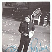 Gianni Raimondi Autograph: Signed Photo, 1970s