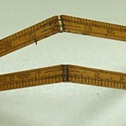 Folding Rabone Chesterman Ruler. Boxwood.