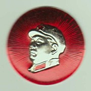 Chairman Mao Button. Authentic. Cultural Revolution.