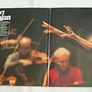 Autograph Herbert von Karajan: Hand signed Record Sleeve. COA included
