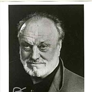 Kurt Masur authentic Autograph: 8 x 10 Photo. CoA