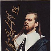Roberto Scandiuzzi Autograph. CoA