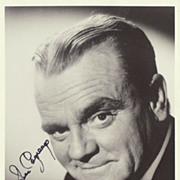James Cagney Autograph. Hand signed Photo. CoA