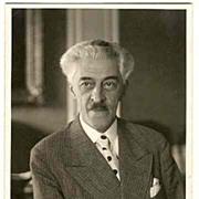 Autograph by Johann Strauss III, COA