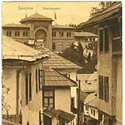 Sarajevo: Postcard from 1916: Street Scene.