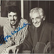 Exciting Autograph Lot with Leonard Bernstein and more signed Photos. CoA