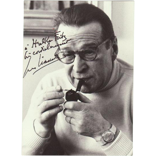 George Simenon Autograph + Authentic Letter. 1978