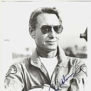 Roy Scheider Autograph on 8 x 10 b/w Photo. CoA