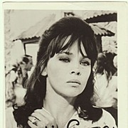 Leslie Caron Autograph. Hand signed Photo. CoA