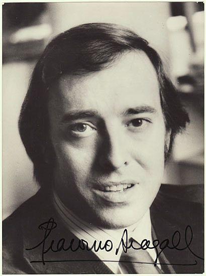 Giaccomo Arragall Autograph: 7 x 9,4. CoA