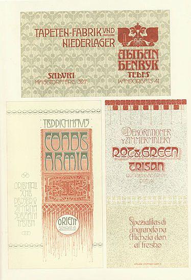 Art Nouveau: Hofmann Studio Authentic Lithograph. 1910s