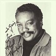 Paul Winfield Autograph: 8 x 10. CoA