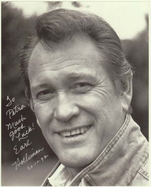 Earl Holliman Autograph on 8 x 10 Photo with CoA