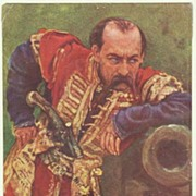 Old Russian Postcard: Hetman of Ukraine