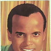 Harry Belafonte Autograph, signed in 1979 in Wien. CoA