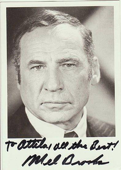 Mel Brooks Autograph. Hand-signed Photo. CoA