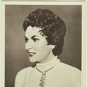 Gina Lollobrigida Autograph Hand signed early Photo with CoA