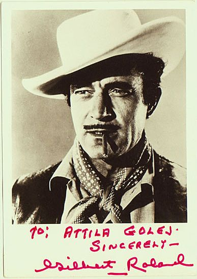 Gilbert Roland Autograph. Hand-signed Photo. CoA