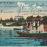 Old Turkey: Vintage Postcard Constantinople to Austria