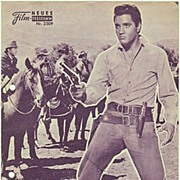 Elvis Presley. 3 old Movie Programs.