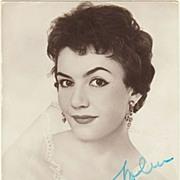 Renate Holm Autograph: CoA