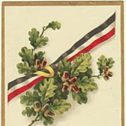 Patriotic Postcard 1919. Lithograph