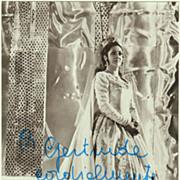 Soprano Fiorenza Cossotto Autograph, CoA