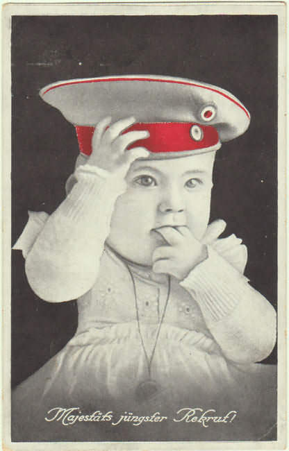 Cute Patriotic Postcard from 1916