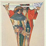 Alphonse Mucha Postcard 1914