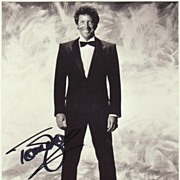 Tom Jones Autograph on large Photo. 8 x 10. CoA